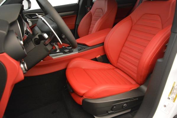 New 2019 Alfa Romeo Stelvio Ti Sport Q4 for sale Sold at Bugatti of Greenwich in Greenwich CT 06830 15