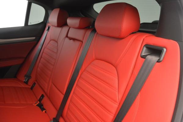 New 2019 Alfa Romeo Stelvio Ti Sport Q4 for sale Sold at Bugatti of Greenwich in Greenwich CT 06830 18