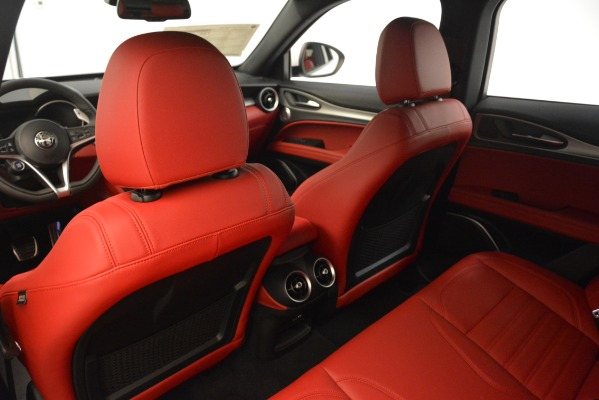 New 2019 Alfa Romeo Stelvio Ti Sport Q4 for sale Sold at Bugatti of Greenwich in Greenwich CT 06830 20