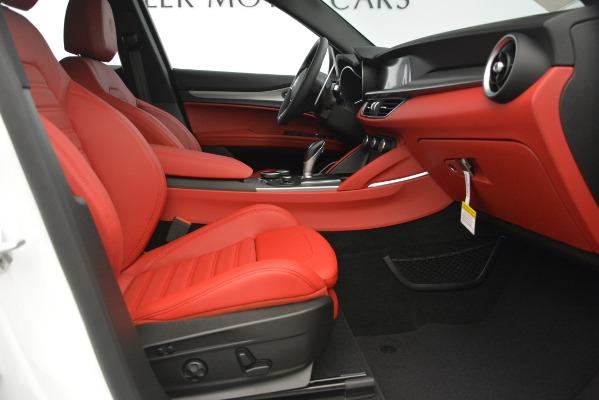 New 2019 Alfa Romeo Stelvio Ti Sport Q4 for sale Sold at Bugatti of Greenwich in Greenwich CT 06830 23