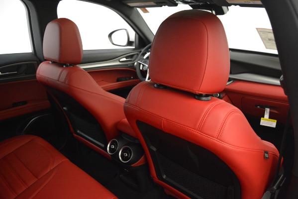 New 2019 Alfa Romeo Stelvio Ti Sport Q4 for sale Sold at Bugatti of Greenwich in Greenwich CT 06830 27