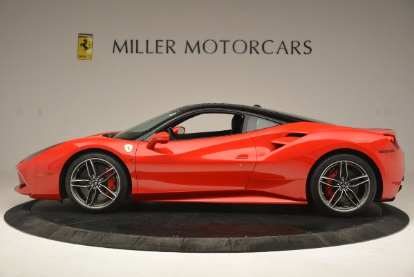 Used 2018 Ferrari 488 GTB for sale Sold at Bugatti of Greenwich in Greenwich CT 06830 3