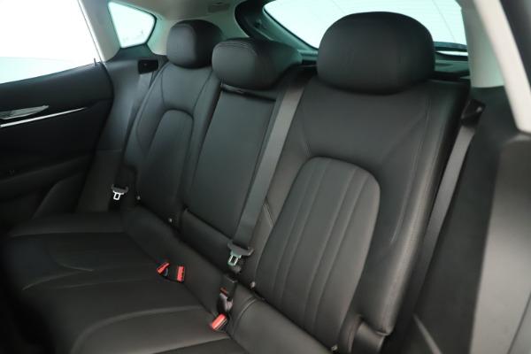 New 2019 Maserati Levante Q4 Nerissimo for sale $89,850 at Bugatti of Greenwich in Greenwich CT 06830 18