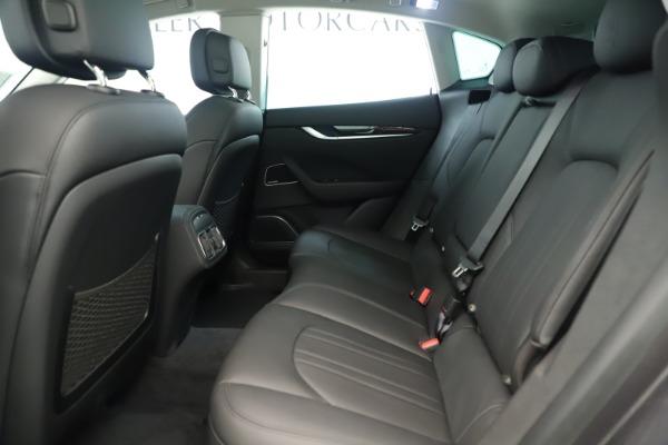 New 2019 Maserati Levante Q4 Nerissimo for sale Sold at Bugatti of Greenwich in Greenwich CT 06830 19