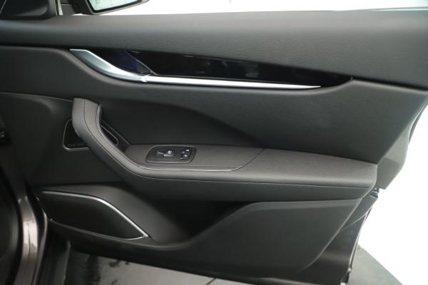 New 2019 Maserati Levante Q4 Nerissimo for sale Sold at Bugatti of Greenwich in Greenwich CT 06830 25