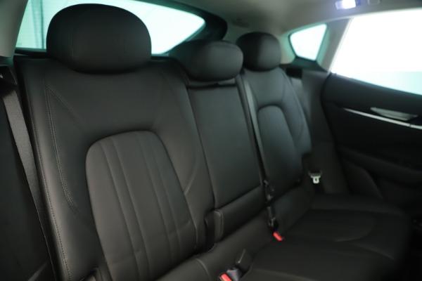 New 2019 Maserati Levante Q4 Nerissimo for sale $89,850 at Bugatti of Greenwich in Greenwich CT 06830 26