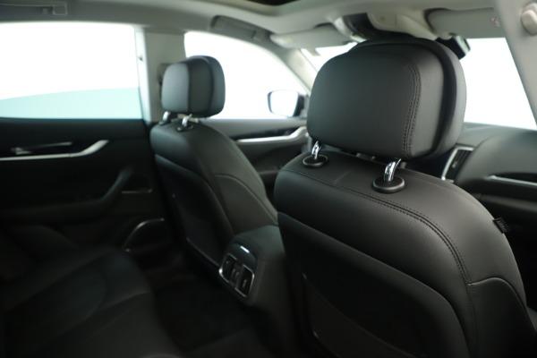 New 2019 Maserati Levante Q4 Nerissimo for sale $89,850 at Bugatti of Greenwich in Greenwich CT 06830 28
