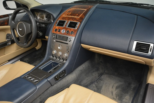 Used 2007 Aston Martin DB9 Convertible for sale Sold at Bugatti of Greenwich in Greenwich CT 06830 19