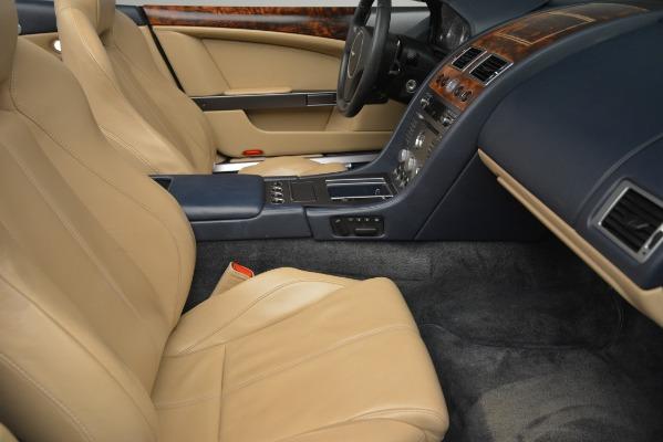 Used 2007 Aston Martin DB9 Convertible for sale Sold at Bugatti of Greenwich in Greenwich CT 06830 20