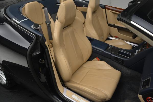 Used 2007 Aston Martin DB9 Convertible for sale Sold at Bugatti of Greenwich in Greenwich CT 06830 21