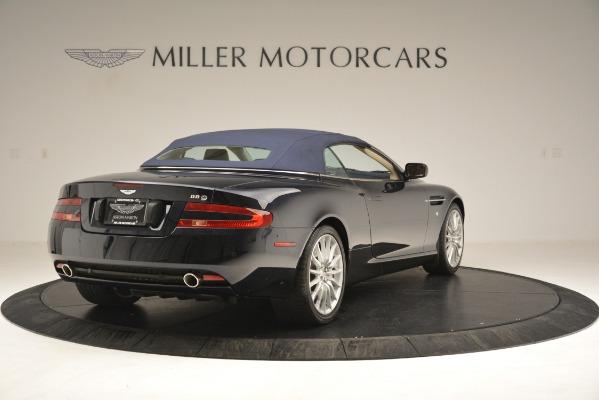 Used 2007 Aston Martin DB9 Convertible for sale Sold at Bugatti of Greenwich in Greenwich CT 06830 28
