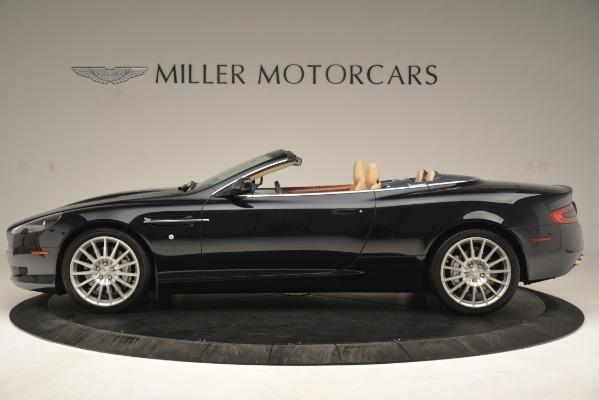 Used 2007 Aston Martin DB9 Convertible for sale Sold at Bugatti of Greenwich in Greenwich CT 06830 3