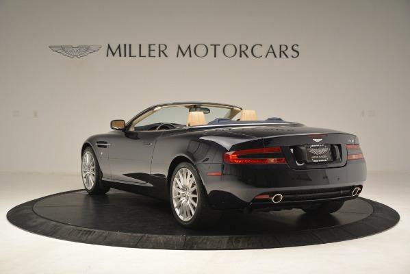 Used 2007 Aston Martin DB9 Convertible for sale Sold at Bugatti of Greenwich in Greenwich CT 06830 5