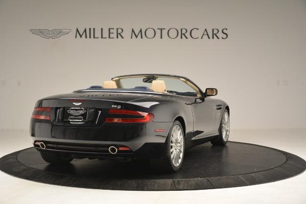 Used 2007 Aston Martin DB9 Convertible for sale Sold at Bugatti of Greenwich in Greenwich CT 06830 7