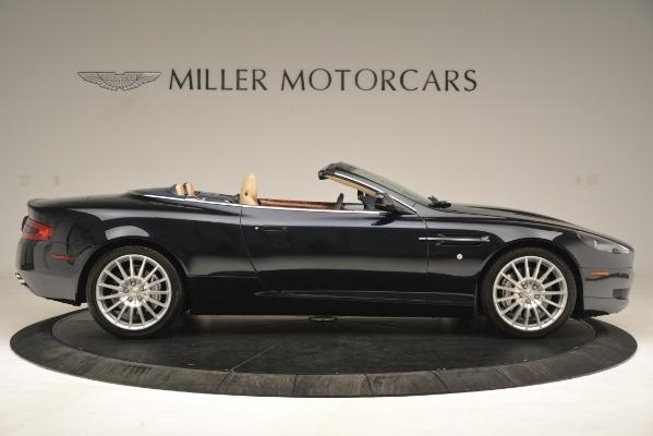 Used 2007 Aston Martin DB9 Convertible for sale Sold at Bugatti of Greenwich in Greenwich CT 06830 9