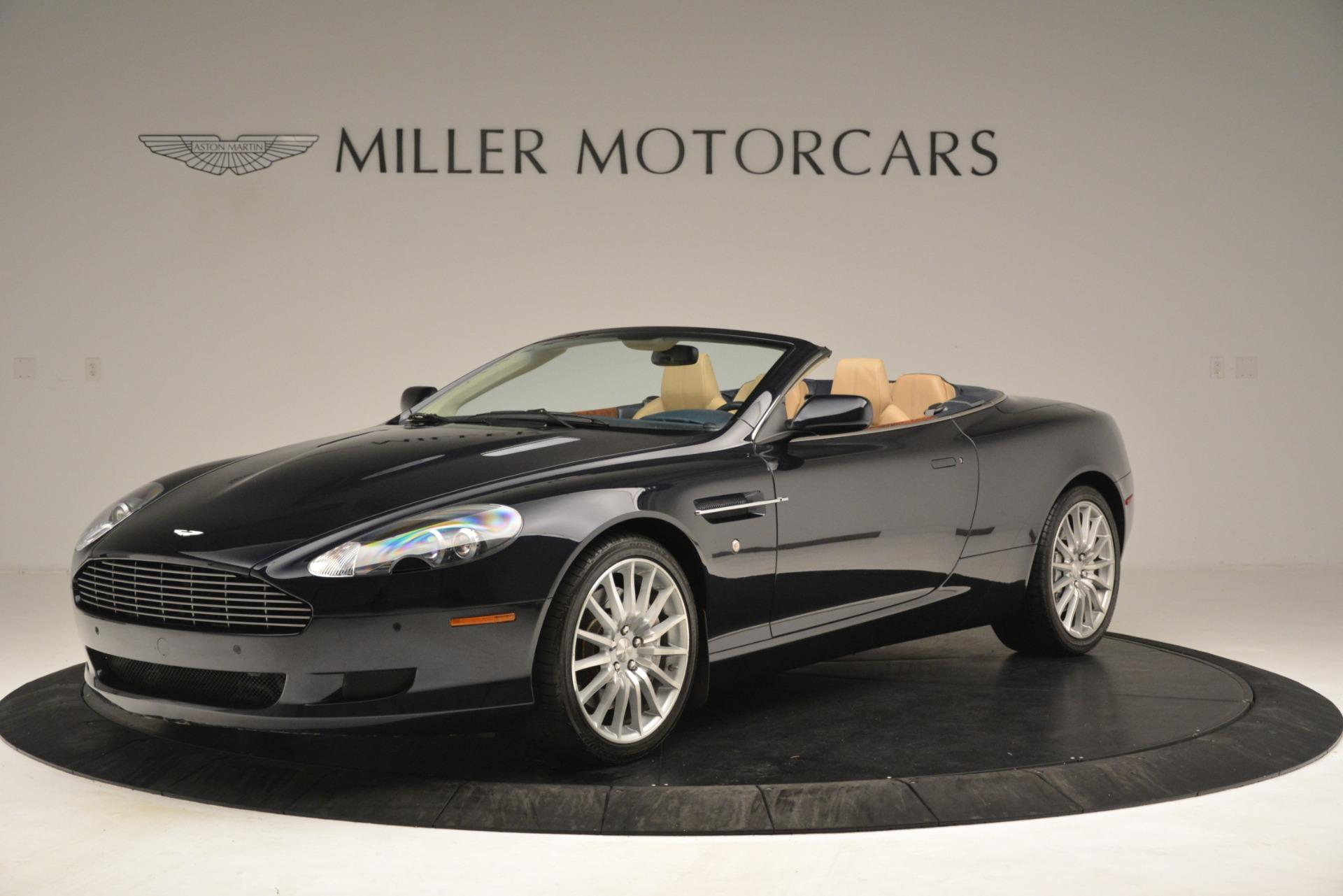 Used 2007 Aston Martin DB9 Convertible for sale Sold at Bugatti of Greenwich in Greenwich CT 06830 1