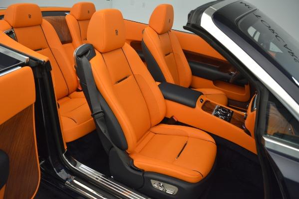 Used 2016 Rolls-Royce Dawn for sale Sold at Bugatti of Greenwich in Greenwich CT 06830 22