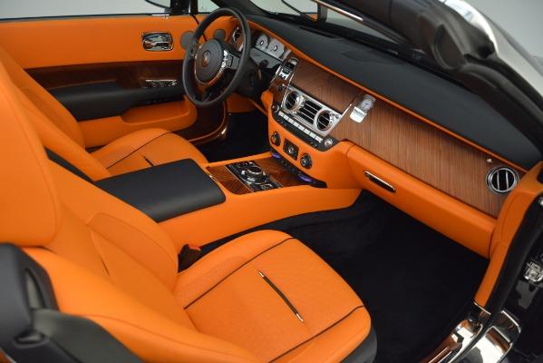 Used 2016 Rolls-Royce Dawn for sale Sold at Bugatti of Greenwich in Greenwich CT 06830 24
