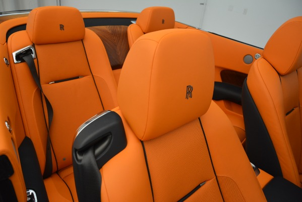 Used 2016 Rolls-Royce Dawn for sale Sold at Bugatti of Greenwich in Greenwich CT 06830 27