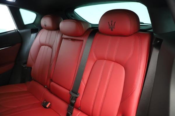 New 2019 Maserati Levante Q4 GranSport Nerissimo for sale Sold at Bugatti of Greenwich in Greenwich CT 06830 18