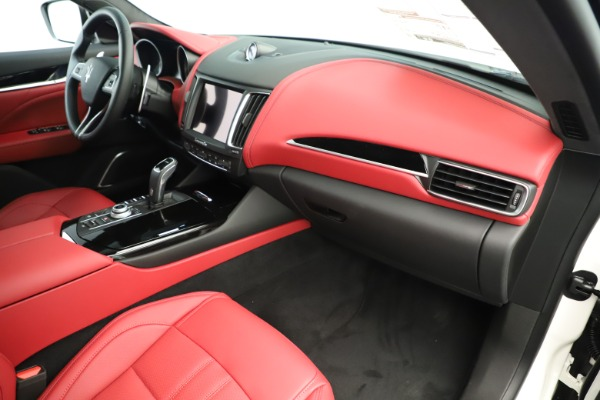 New 2019 Maserati Levante Q4 GranSport Nerissimo for sale Sold at Bugatti of Greenwich in Greenwich CT 06830 22