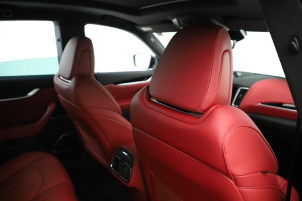 New 2019 Maserati Levante Q4 GranSport Nerissimo for sale Sold at Bugatti of Greenwich in Greenwich CT 06830 28