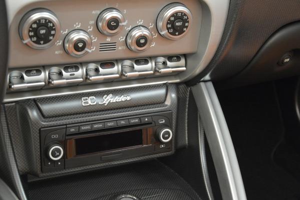 Used 2009 Alfa Romeo 8c Spider for sale Sold at Bugatti of Greenwich in Greenwich CT 06830 26
