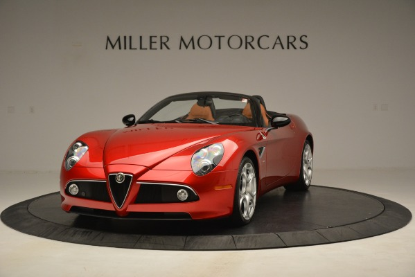 Used 2009 Alfa Romeo 8c Spider for sale Sold at Bugatti of Greenwich in Greenwich CT 06830 1