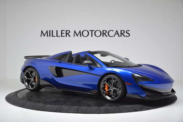 New 2020 McLaren 600LT SPIDER Convertible for sale $304,970 at Bugatti of Greenwich in Greenwich CT 06830 10