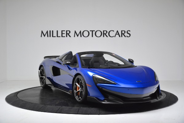 New 2020 McLaren 600LT SPIDER Convertible for sale $304,970 at Bugatti of Greenwich in Greenwich CT 06830 11