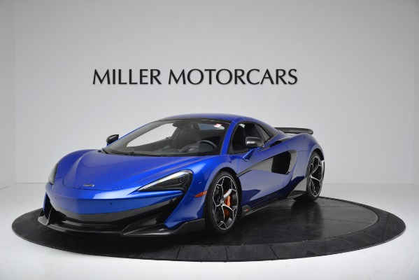 New 2020 McLaren 600LT SPIDER Convertible for sale $304,970 at Bugatti of Greenwich in Greenwich CT 06830 12