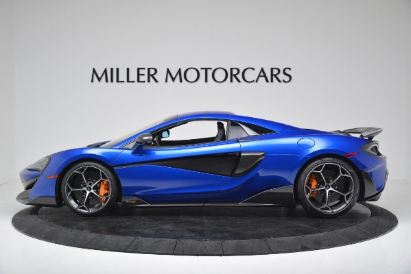 New 2020 McLaren 600LT SPIDER Convertible for sale $304,970 at Bugatti of Greenwich in Greenwich CT 06830 13