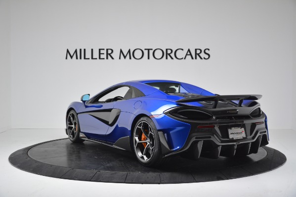 New 2020 McLaren 600LT SPIDER Convertible for sale $304,970 at Bugatti of Greenwich in Greenwich CT 06830 14