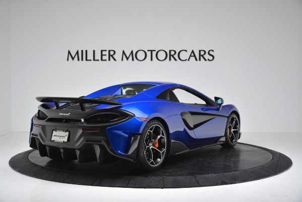 New 2020 McLaren 600LT SPIDER Convertible for sale $304,970 at Bugatti of Greenwich in Greenwich CT 06830 15