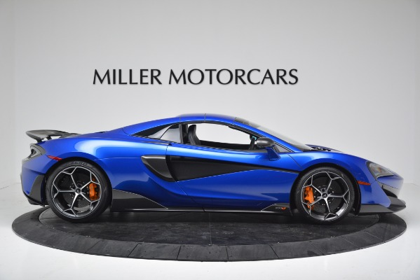 New 2020 McLaren 600LT SPIDER Convertible for sale $304,970 at Bugatti of Greenwich in Greenwich CT 06830 16