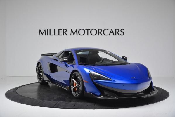 New 2020 McLaren 600LT SPIDER Convertible for sale $304,970 at Bugatti of Greenwich in Greenwich CT 06830 17
