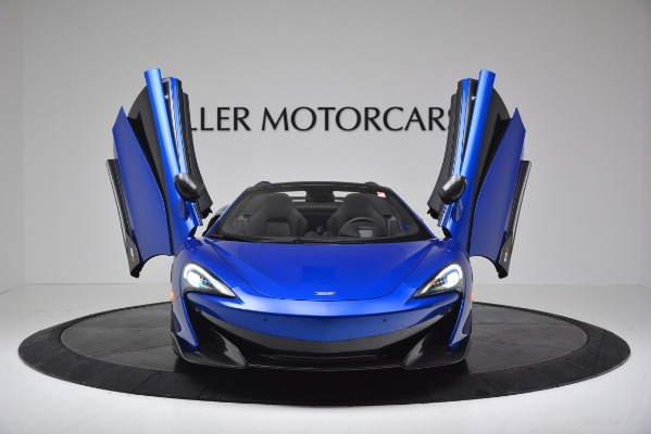 New 2020 McLaren 600LT SPIDER Convertible for sale $304,970 at Bugatti of Greenwich in Greenwich CT 06830 18