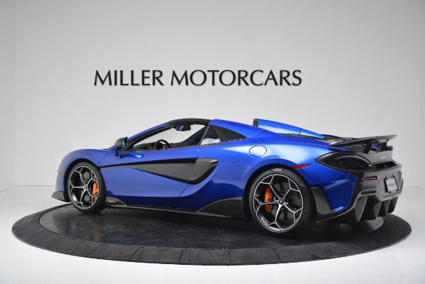 New 2020 McLaren 600LT SPIDER Convertible for sale $304,970 at Bugatti of Greenwich in Greenwich CT 06830 4