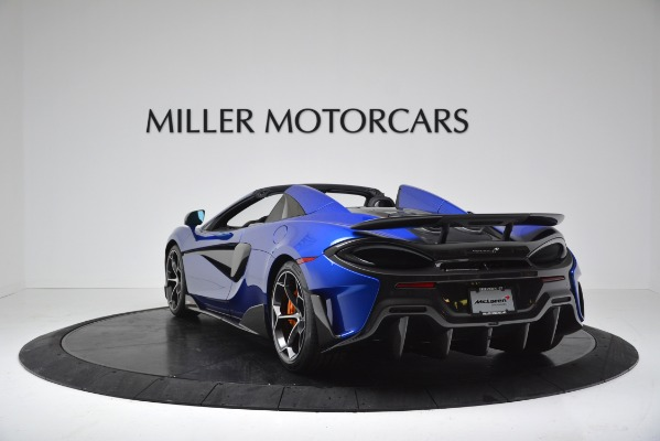 New 2020 McLaren 600LT SPIDER Convertible for sale $304,970 at Bugatti of Greenwich in Greenwich CT 06830 5