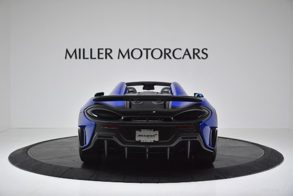 New 2020 McLaren 600LT SPIDER Convertible for sale $304,970 at Bugatti of Greenwich in Greenwich CT 06830 6