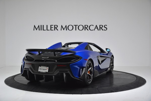 New 2020 McLaren 600LT SPIDER Convertible for sale $304,970 at Bugatti of Greenwich in Greenwich CT 06830 7