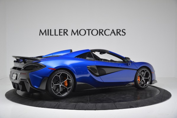 New 2020 McLaren 600LT SPIDER Convertible for sale $304,970 at Bugatti of Greenwich in Greenwich CT 06830 8