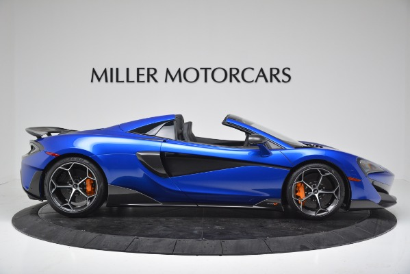 New 2020 McLaren 600LT SPIDER Convertible for sale $304,970 at Bugatti of Greenwich in Greenwich CT 06830 9