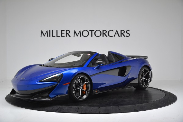 New 2020 McLaren 600LT SPIDER Convertible for sale $304,970 at Bugatti of Greenwich in Greenwich CT 06830 1