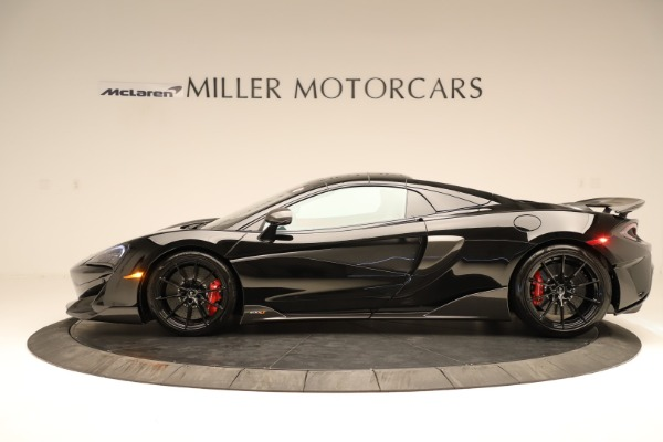 Used 2020 McLaren 600LT Spider for sale $249,900 at Bugatti of Greenwich in Greenwich CT 06830 10