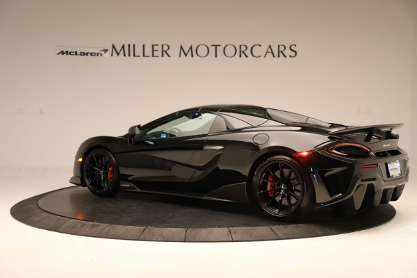 Used 2020 McLaren 600LT Spider for sale $249,900 at Bugatti of Greenwich in Greenwich CT 06830 11