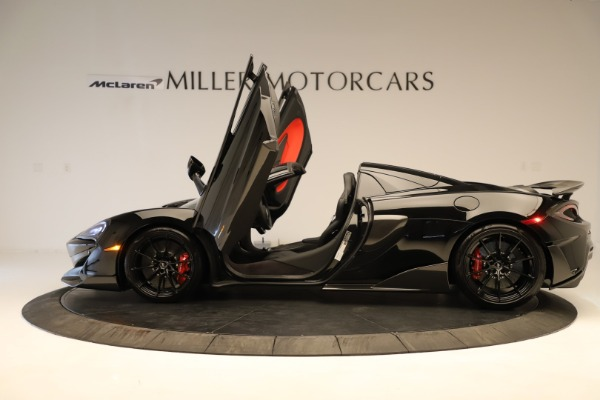 Used 2020 McLaren 600LT Spider for sale $249,900 at Bugatti of Greenwich in Greenwich CT 06830 18