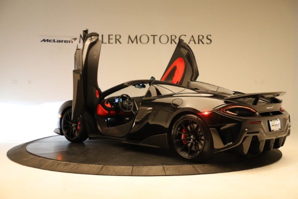 Used 2020 McLaren 600LT Spider for sale $249,900 at Bugatti of Greenwich in Greenwich CT 06830 19