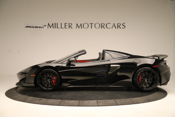 Used 2020 McLaren 600LT Spider for sale $249,900 at Bugatti of Greenwich in Greenwich CT 06830 2