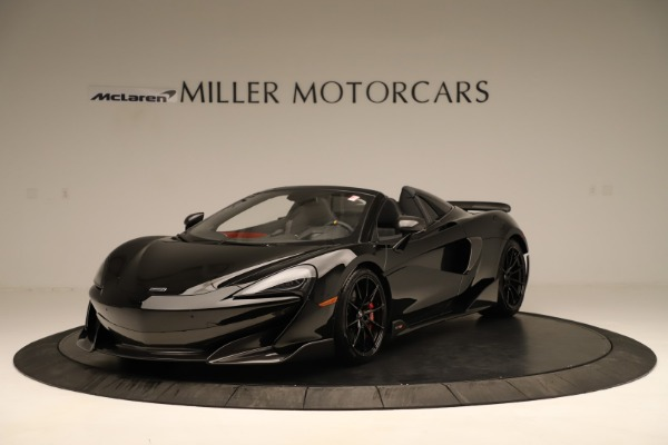Used 2020 McLaren 600LT Spider for sale $249,900 at Bugatti of Greenwich in Greenwich CT 06830 1